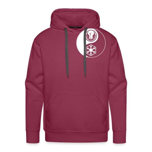 Star Wars SWTOR Yin Yang 1-Color Light - Men's Premium Hoodie