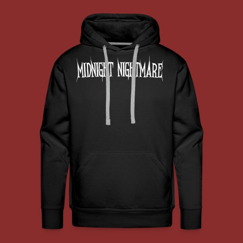 Midnight Nightmare Logo-w - Men's Premium Hoodie