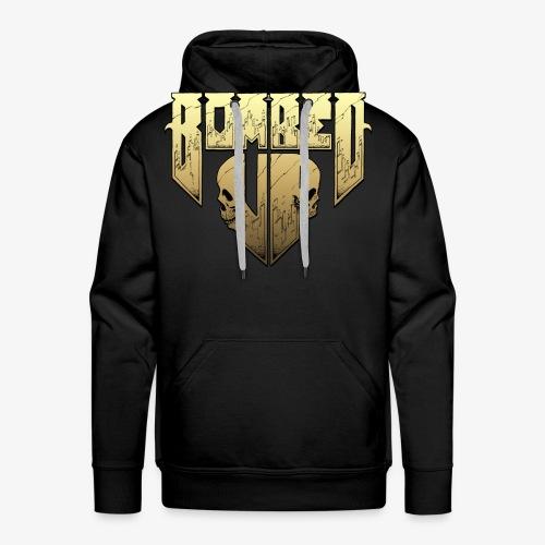 Bombed Up logo - Men's Premium Hoodie