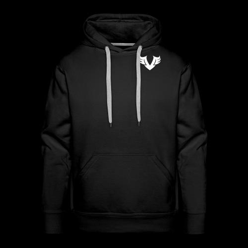 white Villain 2D - Men's Premium Hoodie