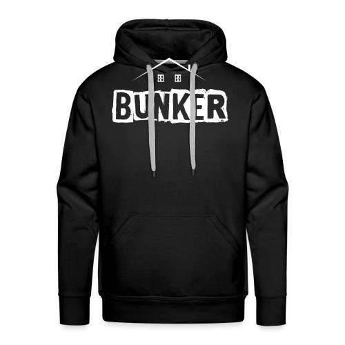 White BUNKER - Men's Premium Hoodie
