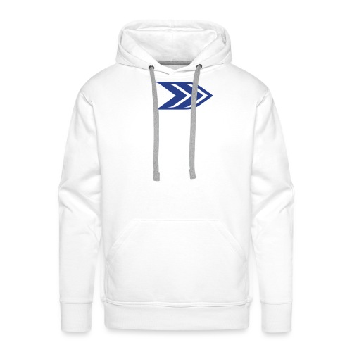 logo plain - Men's Premium Hoodie