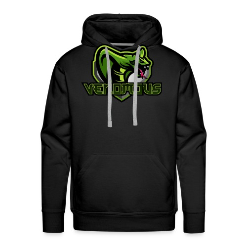 Venomous Text Logo - Men's Premium Hoodie