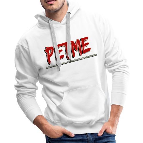 PETME Logo ethically - Men's Premium Hoodie