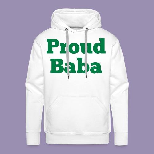 Proud Baba - Men's Premium Hoodie