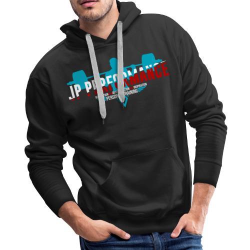 JP Performance (Blue) - Men's Premium Hoodie