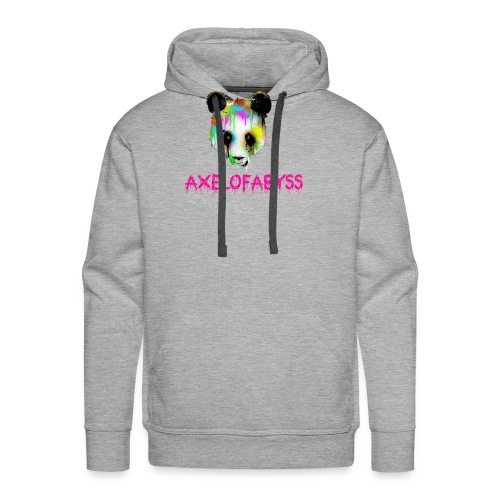Axelofabyss panda panda paint - Men's Premium Hoodie