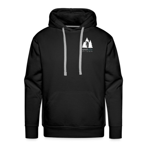 Logo Simon Lajoie Photographer White - Men's Premium Hoodie