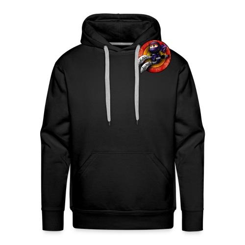 Groovy Ninja Logo - Men's Premium Hoodie