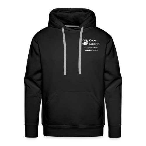 CoderDojoWA and Partners - Men's Premium Hoodie