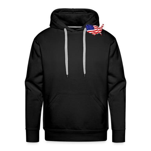 American Flag - Men's Premium Hoodie