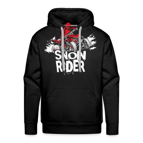 ATV Quad Snow Rider - Men's Premium Hoodie