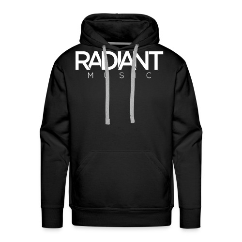 Radiant Text Logo - Men's Premium Hoodie