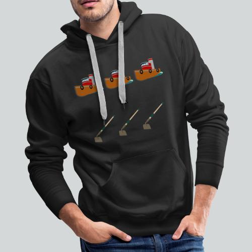 Boats and Hoes - Men's Premium Hoodie