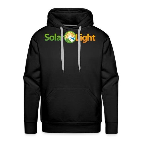 Solar Light Logo only - Men's Premium Hoodie