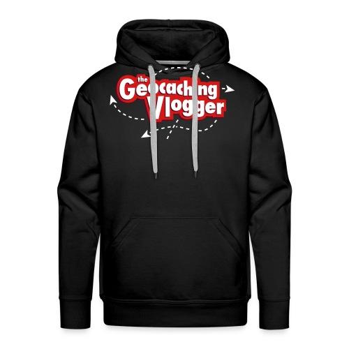 Gilldan Geocaching Vlogger T-Shirt - Men's Premium Hoodie