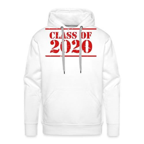 Class of 2020 stencil - Men's Premium Hoodie