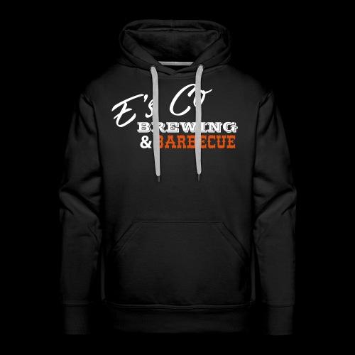 Es Co Brewing BBQ White - Men's Premium Hoodie