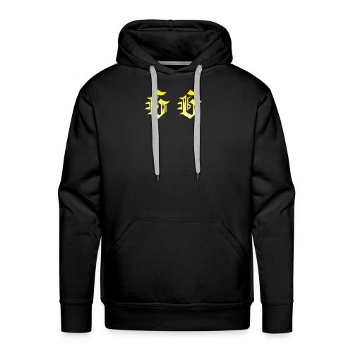 golden gamer logo - Men's Premium Hoodie