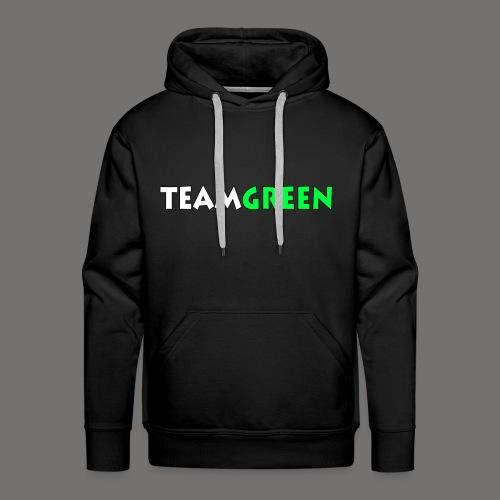TeamGreen png - Men's Premium Hoodie