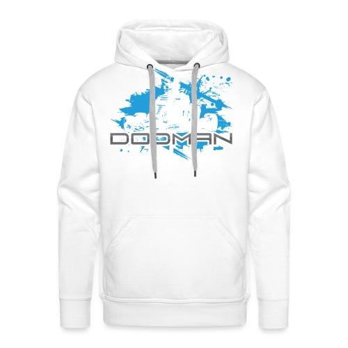 Dodman Engines design colour white png - Men's Premium Hoodie