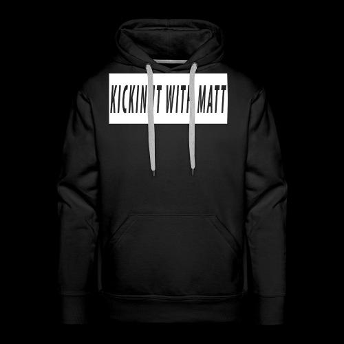 White Design - Men's Premium Hoodie