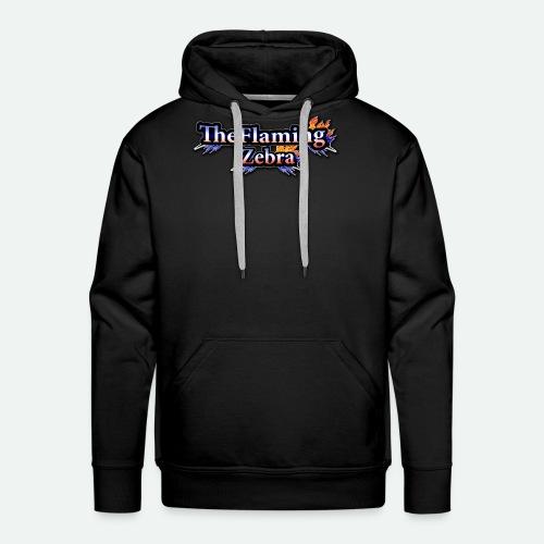 BIG TheFlamingZebra Logo - Men's Premium Hoodie