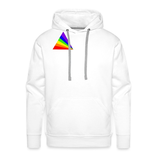 thatz gaming logo white - Men's Premium Hoodie