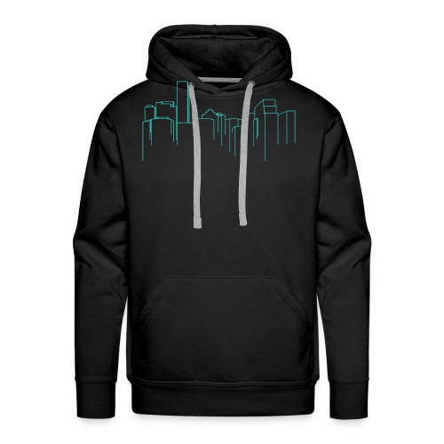Cityscape - Men's Premium Hoodie