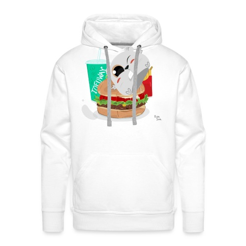 Fast Food Sun - Men's Premium Hoodie
