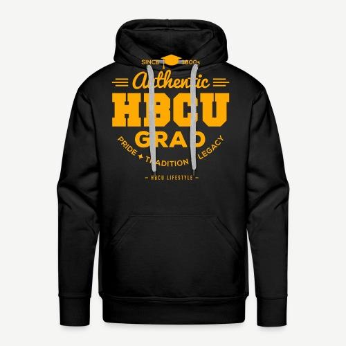 Authentic HBCU Grad - Men's Premium Hoodie