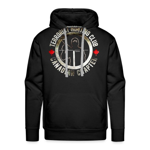 Terrorist Hunting Club Canadian Chapter - Men's Premium Hoodie