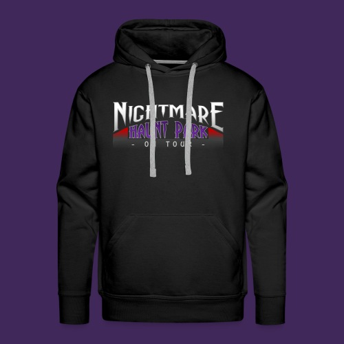 Nightmare Haunt Park Logo - Men's Premium Hoodie