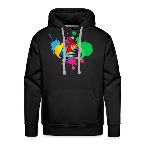 PAINT SPLASH - Men's Premium Hoodie
