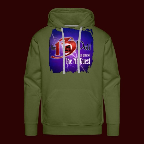 The 13th Doll Logo With Lightning - Men's Premium Hoodie