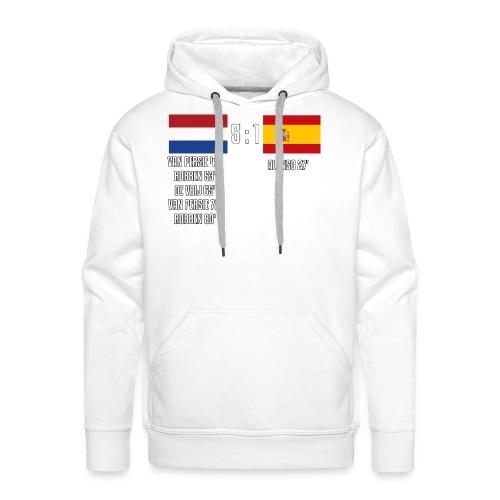 Netherlands 5-1 Spain - Men's Premium Hoodie