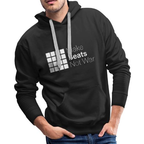 Make Beats Not War - Men's Premium Hoodie