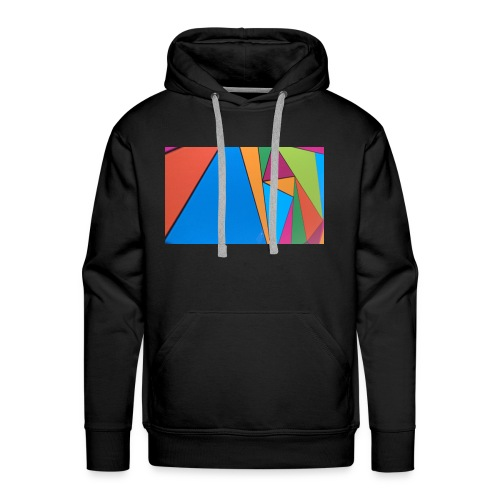Colorful Geometry - Men's Premium Hoodie