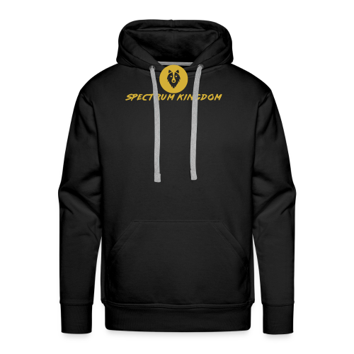 Spectrum Kingdom Gold Logo - Men's Premium Hoodie