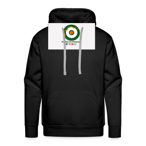 David Doyle Arts & Photography Logo - Men's Premium Hoodie