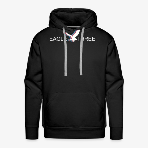 EAGLE THREE APPAREL - Men's Premium Hoodie