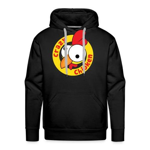 CrazyChicken Hoodie - Men's Premium Hoodie