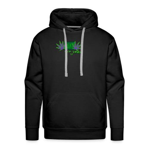 Leaf - Just Smoke It - Men's Premium Hoodie
