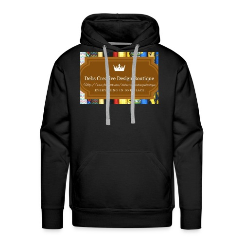 Debs Creative Design Boutique with site - Men's Premium Hoodie