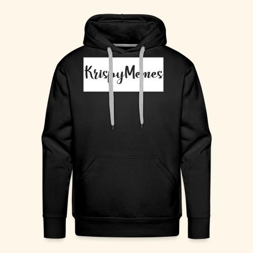 KrispyMemes Text 2 - Men's Premium Hoodie