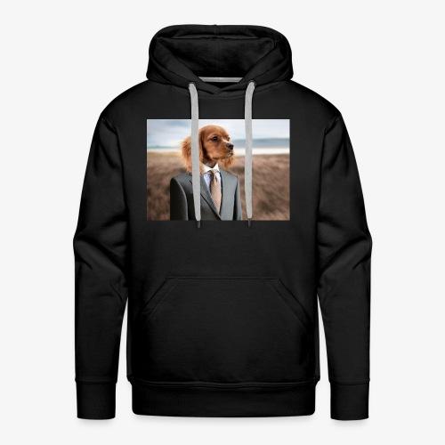 Funny Dog - Men's Premium Hoodie
