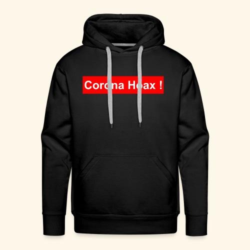 Korona corona hoax - Men's Premium Hoodie