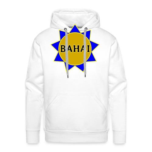 Bahai star - Men's Premium Hoodie