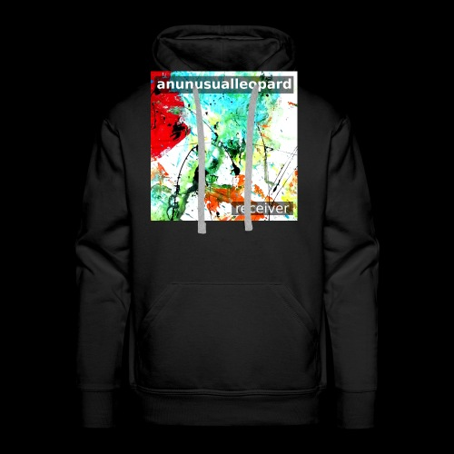 Receiver Front Cover Art Painting by dmcq - Men's Premium Hoodie
