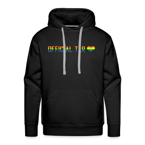 The Lesbian Romantic Merch - Pride Edition - Men's Premium Hoodie